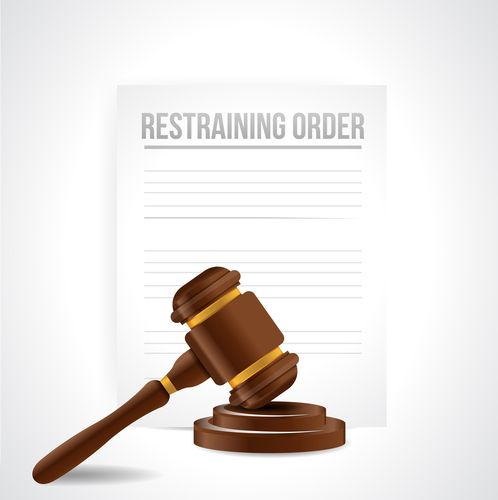 ex violated their restraining order